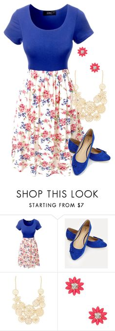 """""""Teacher Outfits on a Teacher's Budget 182"""" by allij28 ❤ liked on Polyvore featuring LE3NO, JustFab, Forever 21 and Natasha Accessories"""