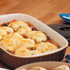 Cheesy Biscuits and Beef Recipe $1.00
