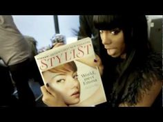 Cover Girl :  Behind the scenes on our Kelly Rowland shoot