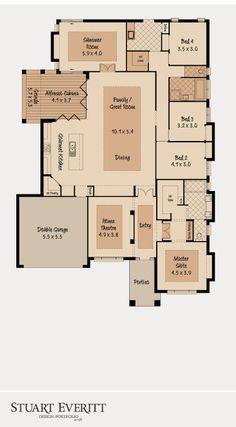 McDonald Jones Homes - The Summer House Collection - Floorplan #Floorplans #luxuryhome