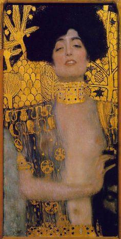 "Exhibition: ""Gustav Klimt in Korea Over 30 paintings and 60 drawings (etc.) of Gustav KLIMT from the Belvedere Vienna and other col. Gustav Klimt, Art Klimt, Klimt Judith, Art Nouveau, Oil Painting Reproductions, Oeuvre D'art, Art History, Canvas Art, Fine Art"