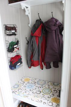 New Ideas Coat Closet Makeover Entryway Benches Bedroom Closet Doors, Bedroom Closet Storage, Ikea Closet, Sliding Closet Doors, Wardrobe Closet, Entryway Storage, Front Closet, Entry Closet, Front Hallway