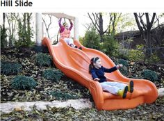 slide on hill