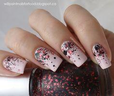 nail art, red