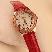 Display type: pointer Applicable to the crowd: Female Style: Fashion Movement type: Quartz Movement