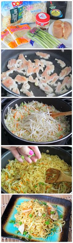 Chicken Chow Mein- Making this tonight for my girls and hubby :) yummy. good luck to me lol