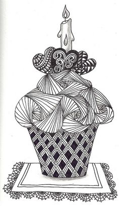 Zentangle Eye Candy - a gallery on Flickr  #ZentangleDesign  #art