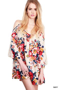 Woodstock Flower Power Dress