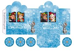 Juegos Frozen Birthday Party Fantástica Frozen Free Printable Box Carriage Shaped Oh My Fiesta Frozen Birthday Party, Frozen Party, Printable Box, Disney Printables, Party Printables, Free Printables, Frozen Paper Dolls, Pirate Party Favors, Frozen Free