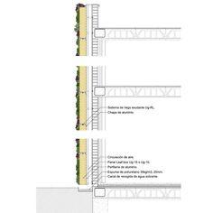Vertical Garden wall section