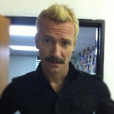 Trevor Mcnevan...he actually looks fine with a mustache lol