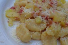 Gnocchi, Potato Salad, Macaroni And Cheese, Shrimp, Paleo, Potatoes, Gluten Free, Meat, Ethnic Recipes