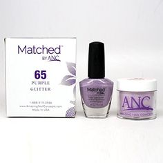 ANC Amazing Nail Concepts Matched kit  #FootHandNailCare