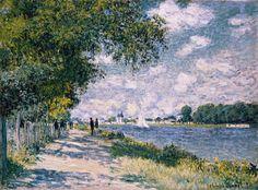 Monet Claude - The Seine At Argenteuil