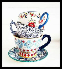 Tea cups - anthropologie
