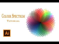 How To Create Color Spectrum | illustrator Tutorial In Urdu / Hindi