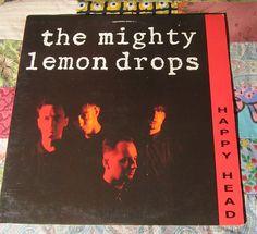 The Mighty Lemon Drops - Happy Head (1986, Rock LP Vinyl Record)$12.99