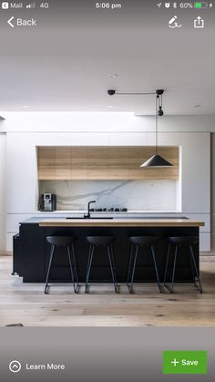 Exceptional kitchen ideas are available on our site. look at this and you wont b Contemporary Kitchen Exceptional Ideas Kitchen site wont Kitchen Room Design, Best Kitchen Designs, Home Decor Kitchen, Kitchen Layout, Kitchen Living, Interior Design Kitchen, Kitchen Furniture, Home Kitchens, Kitchen Ideas