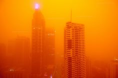 Dust Storm Sydney 23rd Sept 2009 by Highranger
