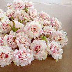 10PCS Artificial Flowers Head 10 cm For Wedding Decoration DIY Wreath Gift Box Floral Silk Party Design Flowers #Affiliate