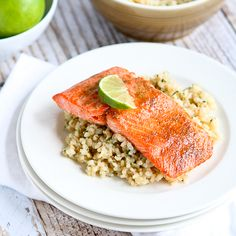 Whip up this unbelievably flavorful and healthy salmon dish in mere minutes. It's slathered in a sweet and savory spice rub, and brightened with lime juice.