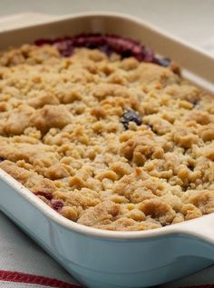 Mixed Berry Cobbler celebrates fresh berries with a quick, simple, and absolutely delicious dessert! - Bake or Break
