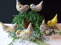 Wedding Cake Topper Love Birds  Spring Summer LJO by Rue23Paris, $49.95