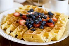 Robyn Lee was the first person to tell me about this waffle recipe, and I don't think it was a coincidence that she told me about it when we were both eating dinner with her friend Greg. Greg emailed Robyn...