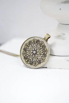 Michael Kors Watch, Black Leather, Bronze, Necklaces, Beige, Chain, Pendant, Silver, Etsy