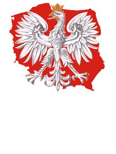 'Polish Eagle Poland Outline' Sticker by PolishArt Polish Eagle Tattoo, Polish Tattoos, Slavic Tattoo, Poland Tattoo, Morale Patch, Polish Recipes, My Heritage, Outline, Tatting