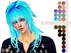 Animate hair 57 AOBA at Studio K-Creation via Sims 4 Updates