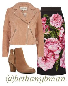 """""""Florals"""" by bethanybman ❤ liked on Polyvore featuring Dolce&Gabbana, ALDO and River Island"""
