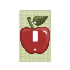 Apple with Green Background Light Switch Covers  ......... http://www.zazzle.com/apple_with_green_background_light_switch_covers-256477535189536320?rf=238631258595245556