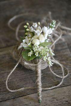 wedding buttonholes dhalias - Google Search