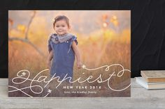 Starburst New Year Photo Cards by Lauren Chism at minted.com
