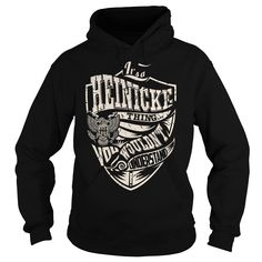 Its a HEINICKE Thing (Eagle) - Last Name, Surname T-Shirt