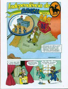 """Confira mais uma """"Coleção Você Sabia?"""", agora sobre a Independência do Brasil, com atividades, historinhas, jogos e passatempos"""