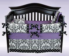 AVA 5 piece crib bedding set  Custom baby by BloomingBabyBedding, $329.00