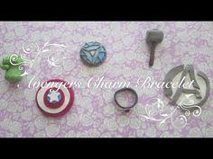 Avengers Charm Bracelet Tutorial