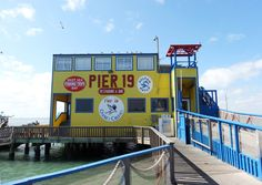 pier 19 restaurant & bar in South Padre Island - recommended by a friend who grew up there!