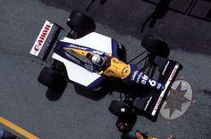 Riccardo Patrese Williams - Renault Imola 1992