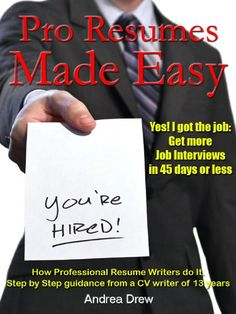 eBooks: Pro Resumes Made Easy (The Made Easy Series)