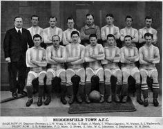 Huddersfield Town team group in Team Pictures, Team Photos, Huddersfield Town Fc, Back Row, Fa Cup, Retro, Terriers, Football, History