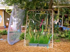 Irresistible Ideas for play based learning » Blog Archive » weaving in the great outdoors