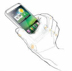 LG Mobile UX / Cloud Service Scenario Project 2012 by DOTTI , via Behance