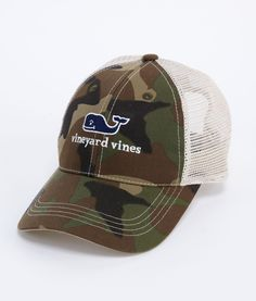 Camo Trucker Hat! i wasnt sure what board to put this on ...
