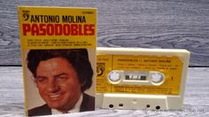 ANTONIO MOLINA. PASODOBLES. MC / DISCOPHON - 1977. COMO NUEVO.