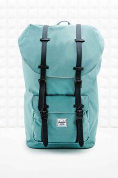 Herschel Little America Backpack in Seafoam