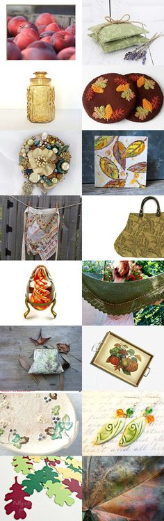 Fall in Love with the Rusty Dusty Team by Diane Waters on Etsy--Pinned with TreasuryPin.com