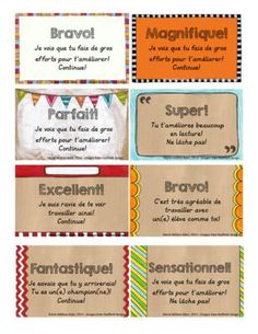 Carte pour dire BRAVO! from Mahe129 on TeachersNotebook.com -  (1 page)  - Petites cartes à imprimer afin de féliciter des élèves qui ont travailler fort!